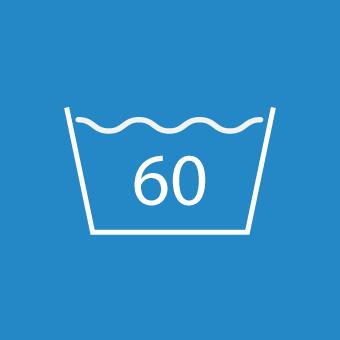 Waschsymbol 60 Grad